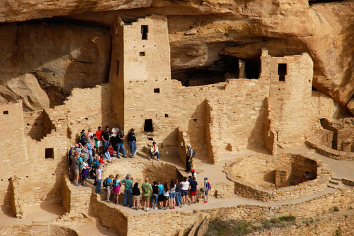 Mesa Verde National Park Cliff Dwelling
